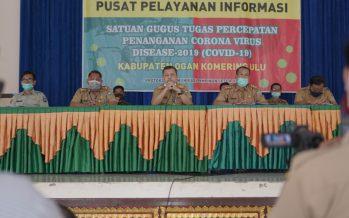 Konferensi Pers Satgas Covid-19 Kabupaten OKU, Senin (22/06/2020)