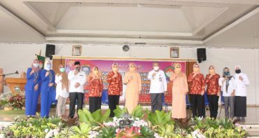 Kunjungan Kerja Dharma Wanita Persatuan Provinsi Sumatera Selatan di Kabupaten Ogan Komering Ulu,Rabu (21/10/2020).