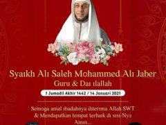 Turut Berduka Cita atas Meninggalnya Syaikh Ali Saleh Mohammad Ali Jaber