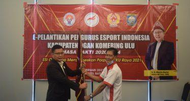 Ketua DPRD OKU H. Marjito Bachri Resmi DiLantik Sebagai Ketua E-Sport Indonesia Kabupaten OKU