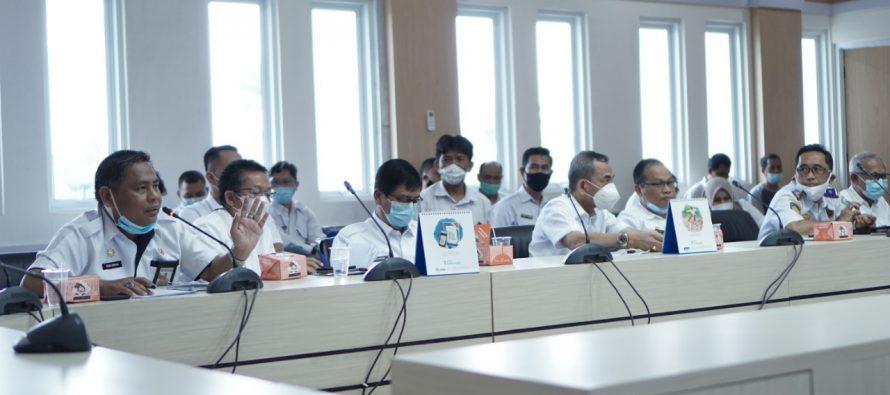 Pelaksana Harian Bupati OKU Pimpin Rapat Persiapan Pelantikan Bupati dan Wakil Bupati Terpilih Kabupaten OKU Hasil Pilkada Serentak Tahun 2020