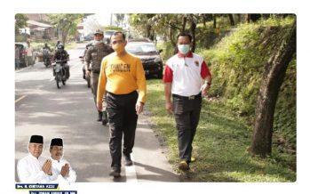 Plh Bupati OKU Drs. H. Edward Candra, M.H.,Melaksanakan Jum'at Bersih Dilingkungan Pemkab OKU Serta Meninjau Jumber di Beberapa OPD di Lingkungan Pemkab OKU