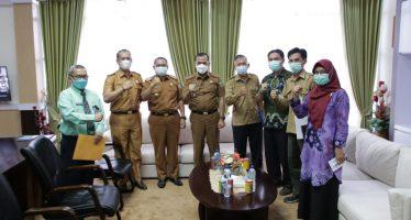 Pelaksana Harian Bupati OKU Menerima Audiensi Kepala Balitbangkes Baturaja