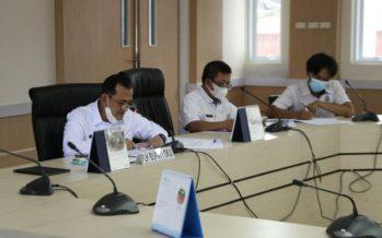 Plh. Bupati OKU Pimpin Rapat Monitoring Evaluasi Pencegahan Korupsi Terintegrasi Tahun 2021